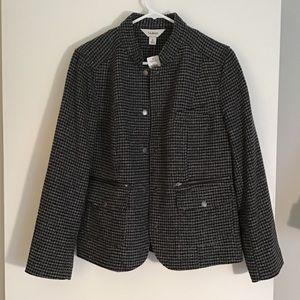 🍁L.L. Bean tweed jacket.  Fall Classic!!